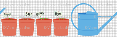 indoor herb garden starter set