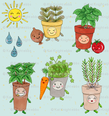Happy Herb Garden