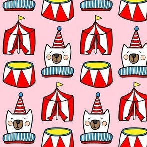 Circus in Pink Pastel