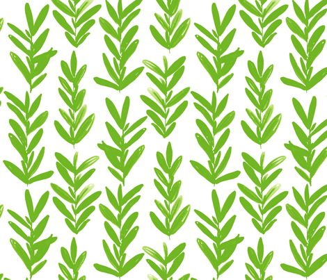 sage fabric by jillbyers on Spoonflower - custom fabric