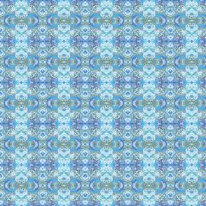 White Sun -  blue white coordinating