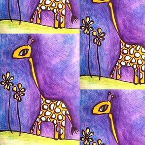 giraffe_with_flowers