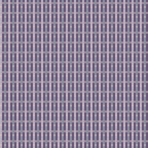 Woven Waves of Purple
