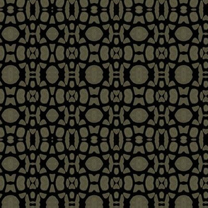 Bedrock- black and taupe