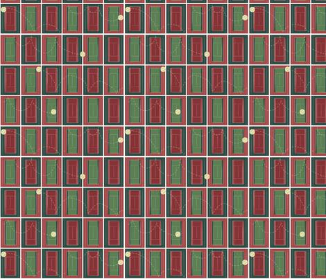 Tennis Anyone fabric by pamela_hamilton on Spoonflower - custom fabric