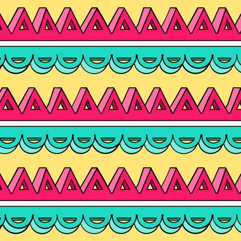 3D Triangle Stripe