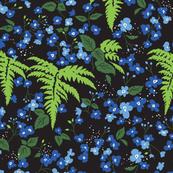 deep forest blossom midnight
