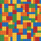 Pop Culture - Colored Building Blocks