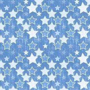 Crackle Stars - Blue