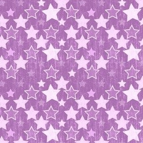 Crackle Stars - Purple