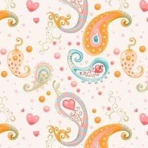 Cutie Pie Combos - Soft Paisley