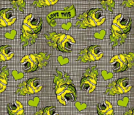 Love This fabric by whimzwhirled on Spoonflower - custom fabric