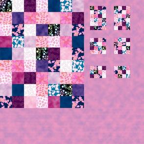 Sweet Sakura Doll Quilt