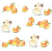 Peaches & Pugs (level version)