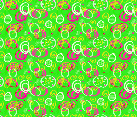 Just Tennis fabric by suecashman on Spoonflower - custom fabric