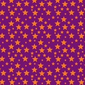 Orange star on Purple