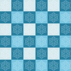 Blue Snow - Square 1