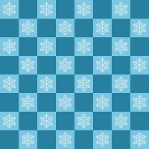 Blue Snow - Square 2