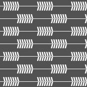Charcoal Arrows