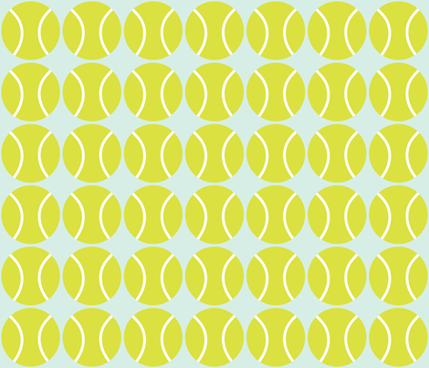 ball line up fabric by claudiamaher on Spoonflower - custom fabric