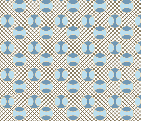 TennisInWinter fabric by grannynan on Spoonflower - custom fabric