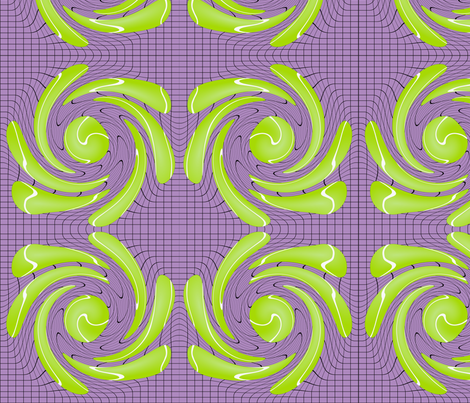 Tennis Twister fabric by josie_grace on Spoonflower - custom fabric