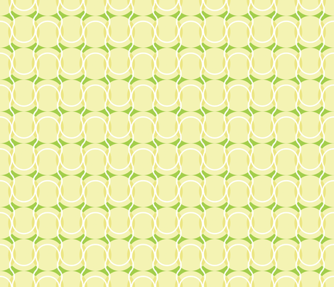 Tennis Balls fabric by vcillustration on Spoonflower - custom fabric