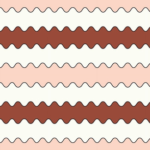Neapolitan design #7 small stripes