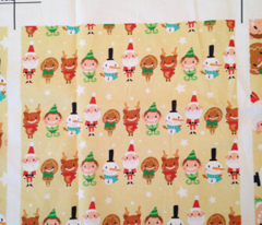 Christmas Crew - Yellow - Line - Small