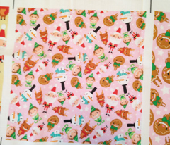 Christmas Crew - Pink - Scattered - Small