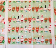 Christmas Crew - Green - Line - Small