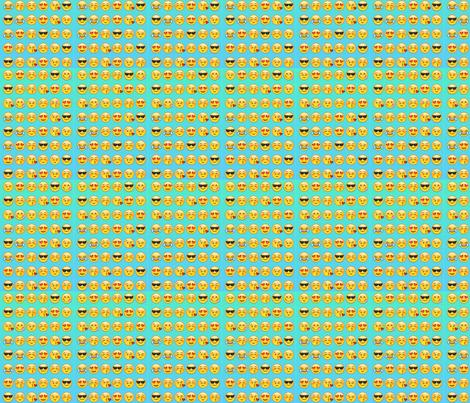 Emoji fabric corndog princess spoonflower for Emoji fabric
