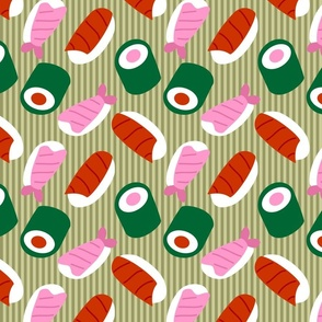 Sushi Pop Art