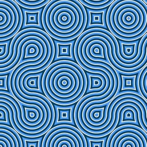 Optical Swirl blue,black,white,