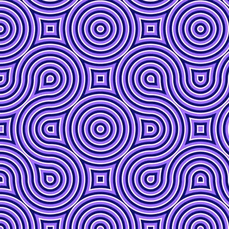 Optical Swirl purple,black, white,