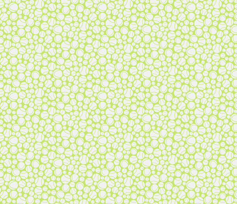 A lot of tennis balls fabric by jillodesigns on Spoonflower - custom fabric