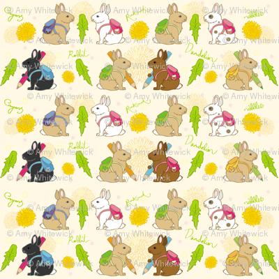Rabbits have Rucksacks
