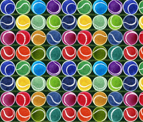 Juicy  Deucey fabric by stitchyrichie on Spoonflower - custom fabric