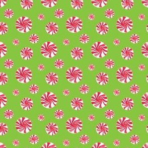 Peppermint Toss green