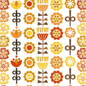 Scandinavian Stripes - Autumn