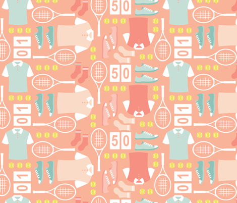 Well Matched fabric by karisa on Spoonflower - custom fabric