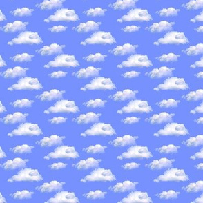 real clouds