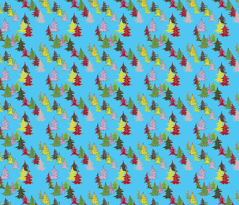 Tree Menagerie fabric by roszilla on Spoonflower - custom fabric
