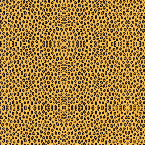 Tiny Leopard Print for Dolls