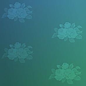 Embossed floral