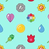 kanto gym badges