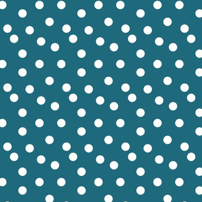 Polka Dot - Bondi Blue by Andrea Lauren