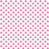 triangles dark pink