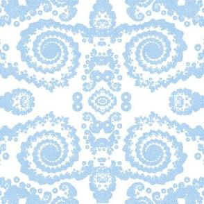 Blue Lace Fractal