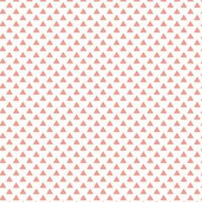 triangles peach